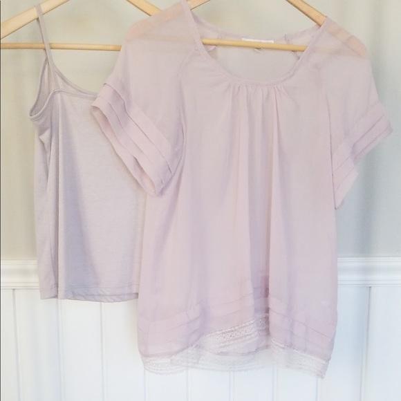 Sarah Spencer Tops - 2 piece blouse set